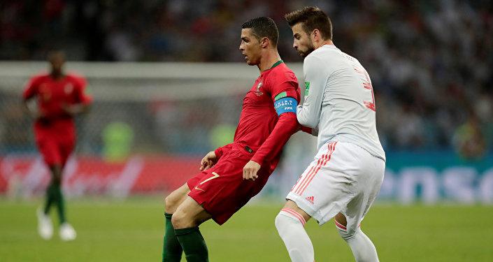 إسبانيا والبرتغال - كريستيانو رونالدو