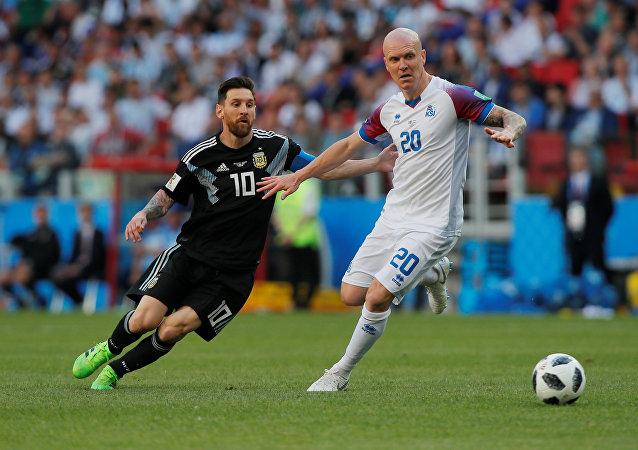 مباراة الأرجنتين وآيسلندا
