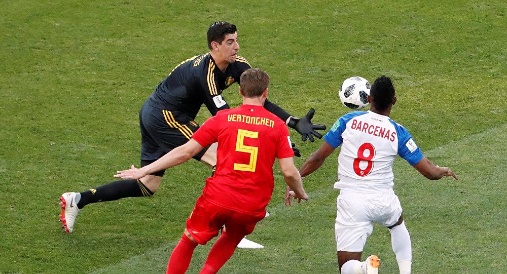 مباراة بلجيكا وبنما في كأس العالم روسيا 2018