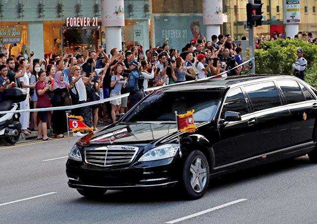 سيارة كيم جونغ أون