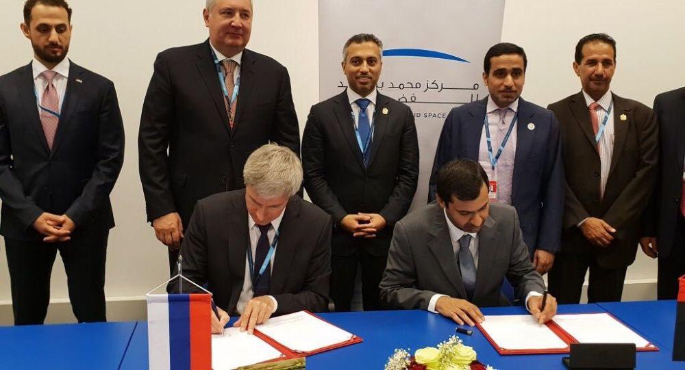 توقيع اتفاقية مبدئية لإرسال أول رائد فضاء إماراتي إلى المحطة الفضائية الدولية
