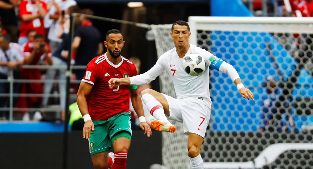 مباراة مصر والمغرب - كريستانيو رونالدو