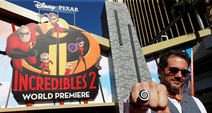 العرض الخاص لفيلم The Incredibles 2، 5 يونيو/حزيران 2018