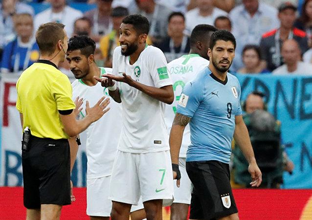 مباراة السعودية وأوروغواي