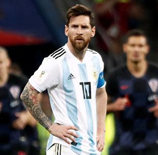 مباراة الأرجنتين وكرواتيا - لينويل ميسي