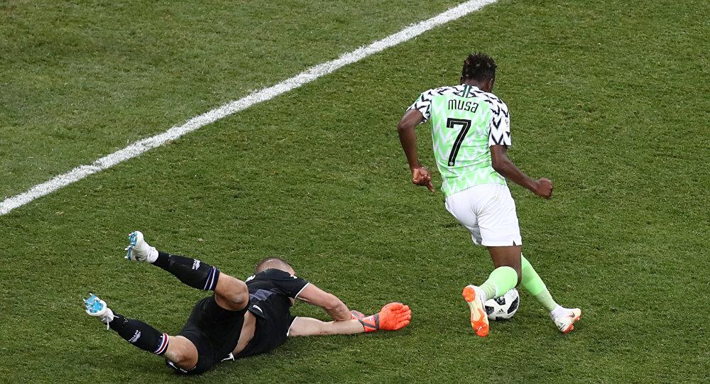 مباراة نيجيريا وآيسلندا، الجمعة 22 يونيو/حزيران 2018