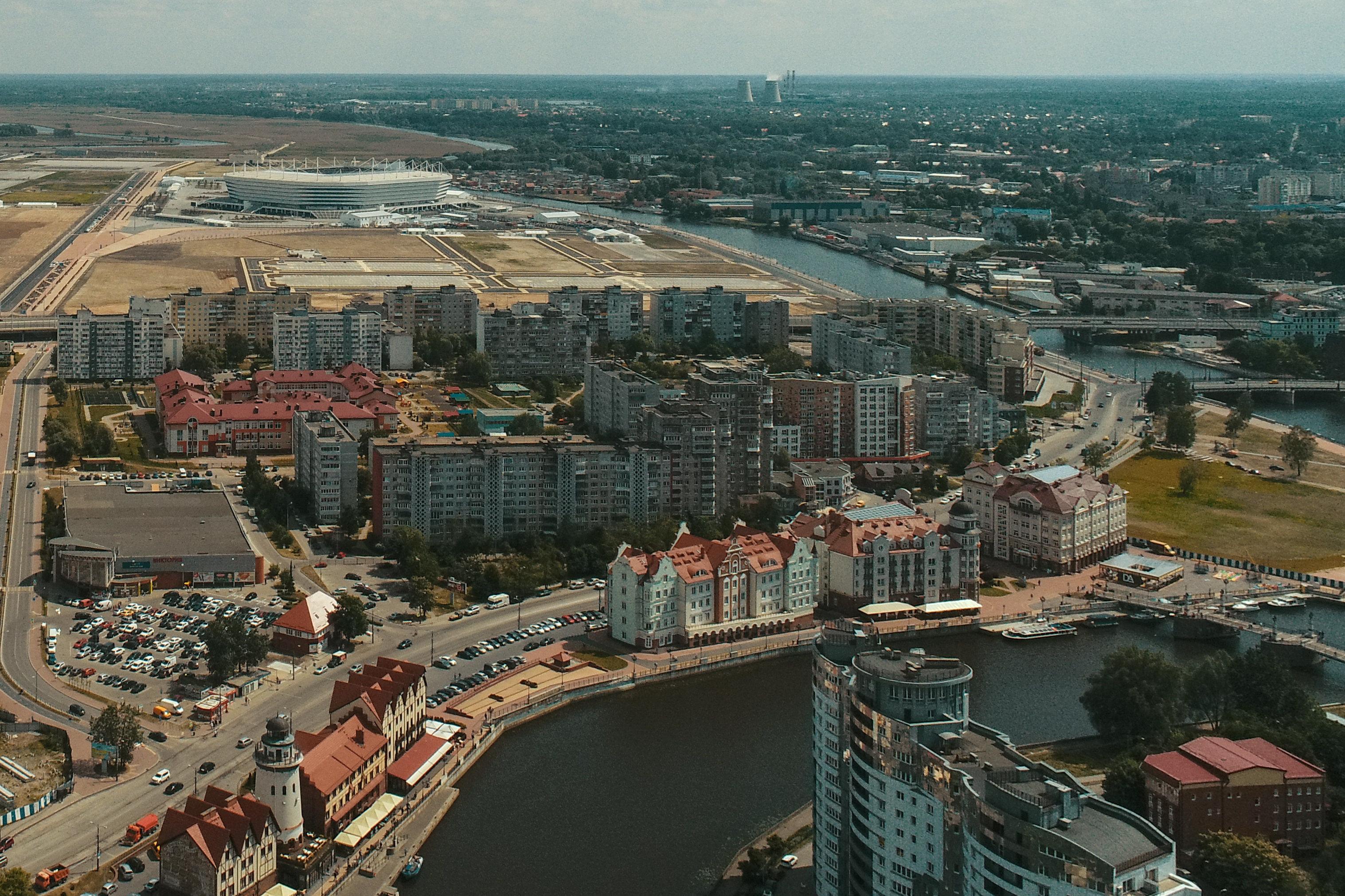 حي قرية الأسماك في كالينينغراد