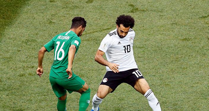 انطلاق مباراة مصر والسعودية