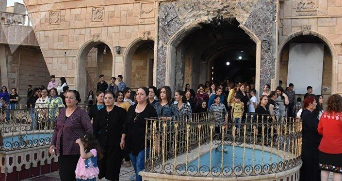 السلام والعراقيات الحسناوات في سهل نينوى بعد دحر داعش