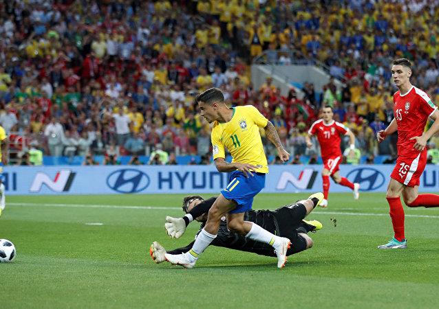 مباراة البرازيل وصربيا