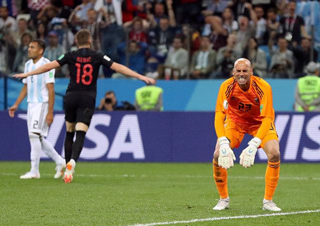 ويلي كابايرو حارس منتخب الأرجنتين