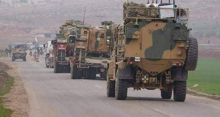 قوات تركية تخترق الحدود السورية باتجاه جنوب إدلب