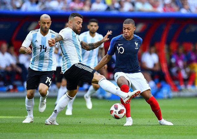 مباراة الأرجنتين وفرنسا