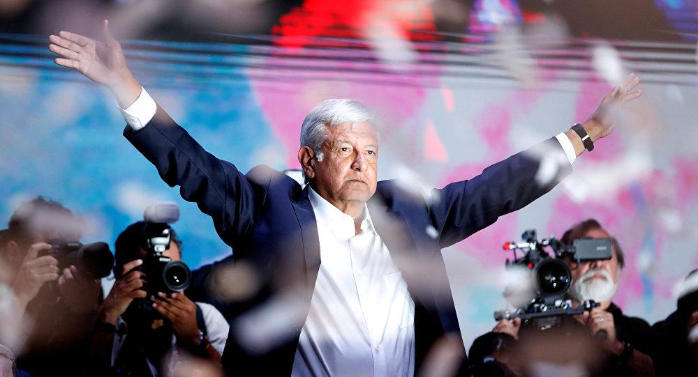 الرئيس المكسيكي الجديد لوبيز أوبرادور
