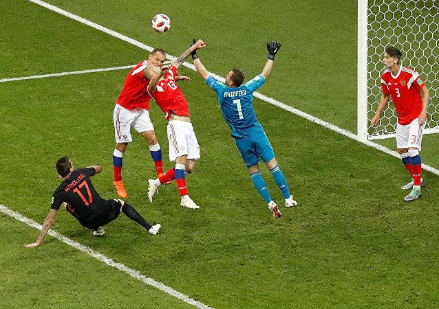 مباراة روسيا وكوراتيا