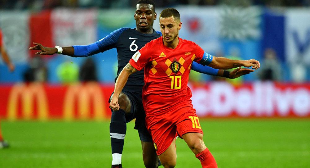 """""""هازارد"""": """"أفضل الخسارة بطريقة بلجيكا على الفوز بطريقة فرنسا"""""""