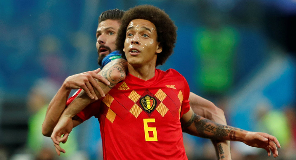 لاعب المنتخب البلجيكي و نادي تيانجين كوانجيان الصيني، أكسيل فيتسل