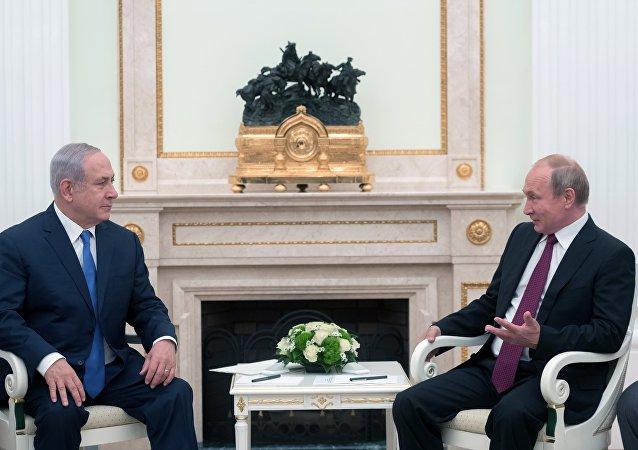 بوتين يستقبل نتنياهو في موسكو