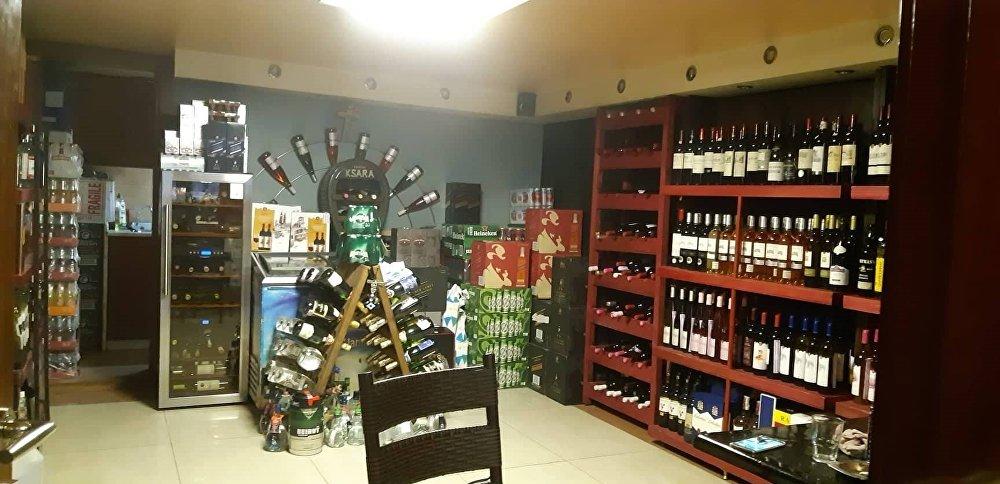 محل لبيع الكحول في دمشق