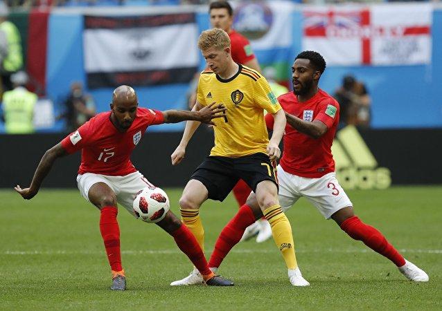 إنجلترا وبلجيكا في كأس العالم 2018