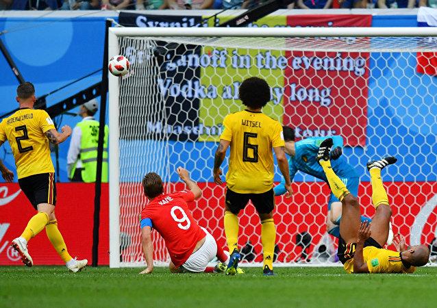 مباراة إنجلترا وبلجيكا - كأس العالم روسيا 2018