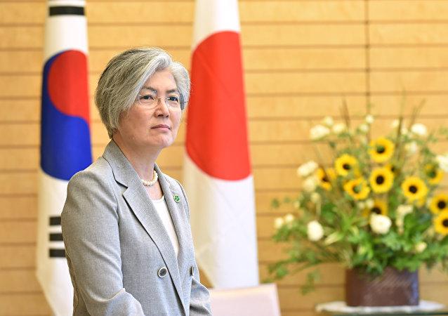 وزيرة خارجية كوريا الجنوبية كانغ كيونغ هوا