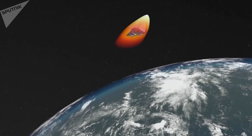 إطلاق صاروخ خاص بمنظومة أفانغارد