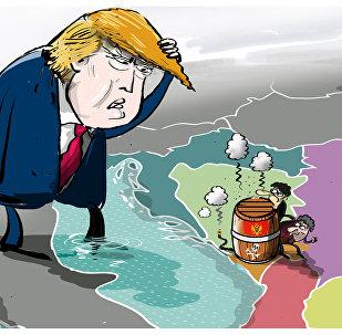 ترامب: هذه الدولة إذا غضبت هنيئا لكم بالحرب العالمية الثالثة