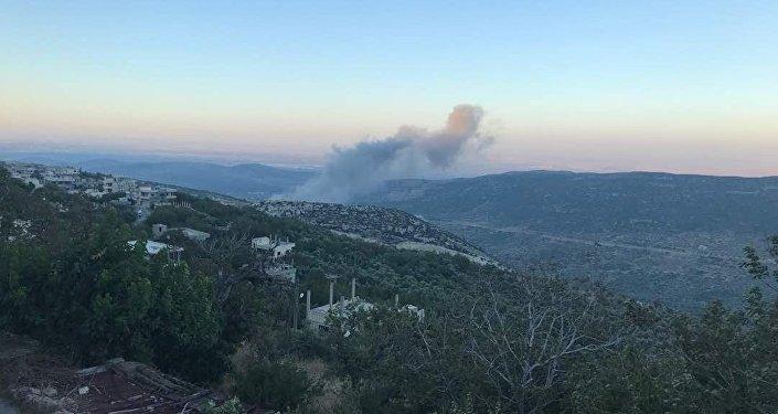 انفجارات في معامل الدفاع في مصياف سوريا