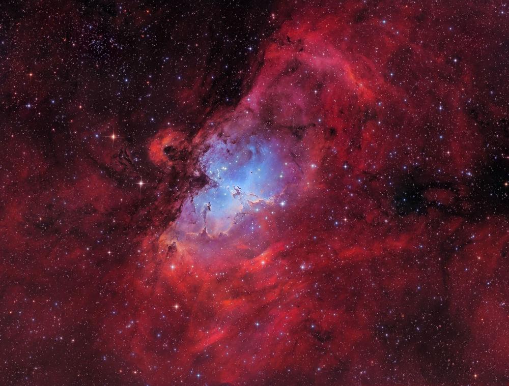 صورة بعنوان The Eagle nebula للمصور مارسل دريتشسلر