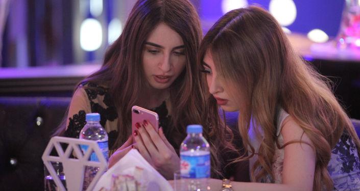 أول مطعم للنساء فقط في إربيل، العراق 17 يوليو/ تموز 2018