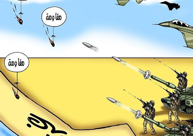 التصعيد العسكري في قطاع غزة