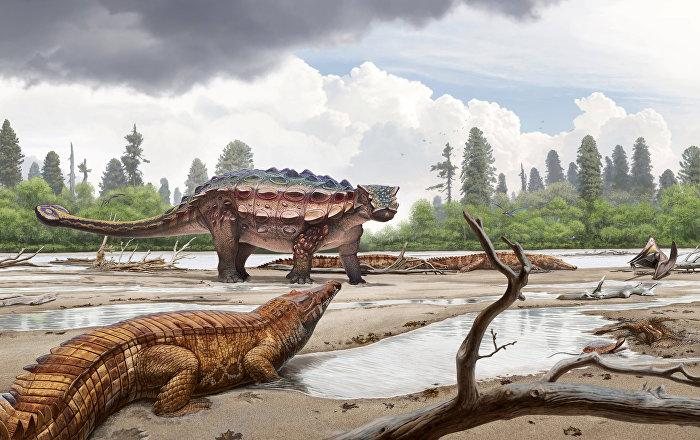 العثور على آثار ديناصور تعود لنحو 100 مليون سنة في الصين