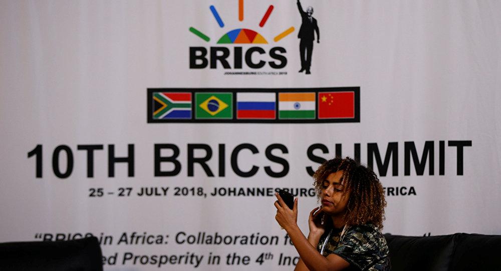 التحضيرات لانعقاد قمة بريكس 2018 في جوهانسبرغ، جنوب أفريقيا 24 يوليو/ تموز 2018