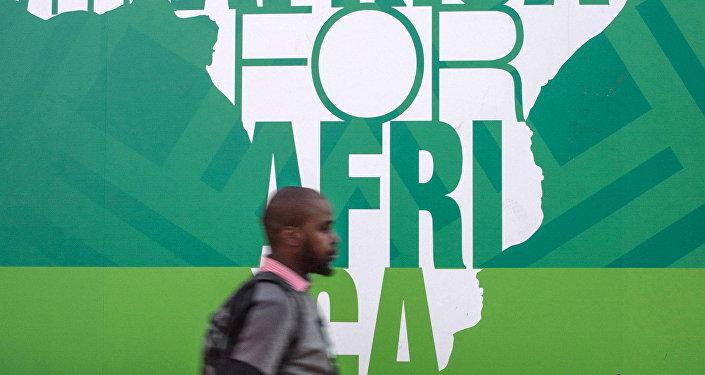 التحضيرات لانعقاد قمة بريكس 2018 في جوهانسبرغ، جنوب أفريقيا 25 يوليو/ تموز 2018