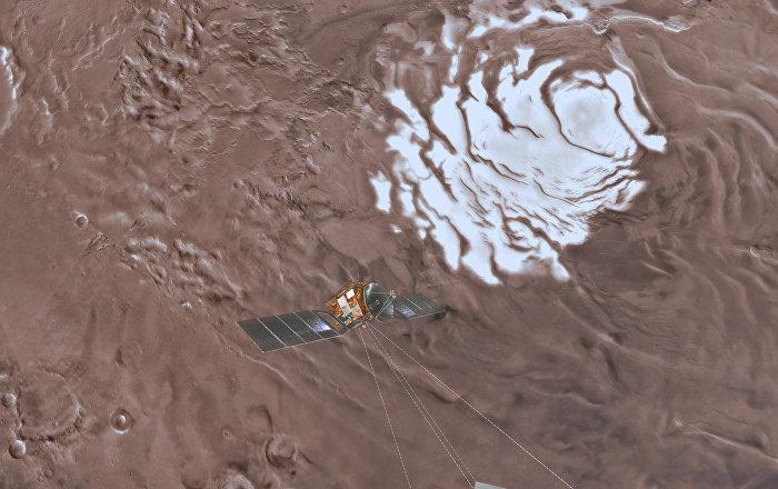 تشبه ثلوج الأرض… مشاهد فيديو ساحرة من كوكب المريخ