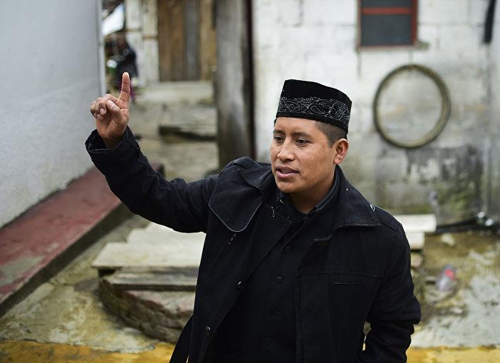 الإمام إبراهيم تشيتشيف من المكسيك