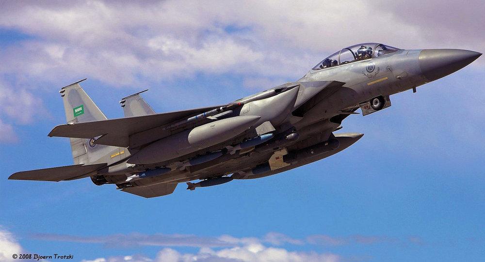 مقاتلة حربية سعودية من طراز إف-15إس