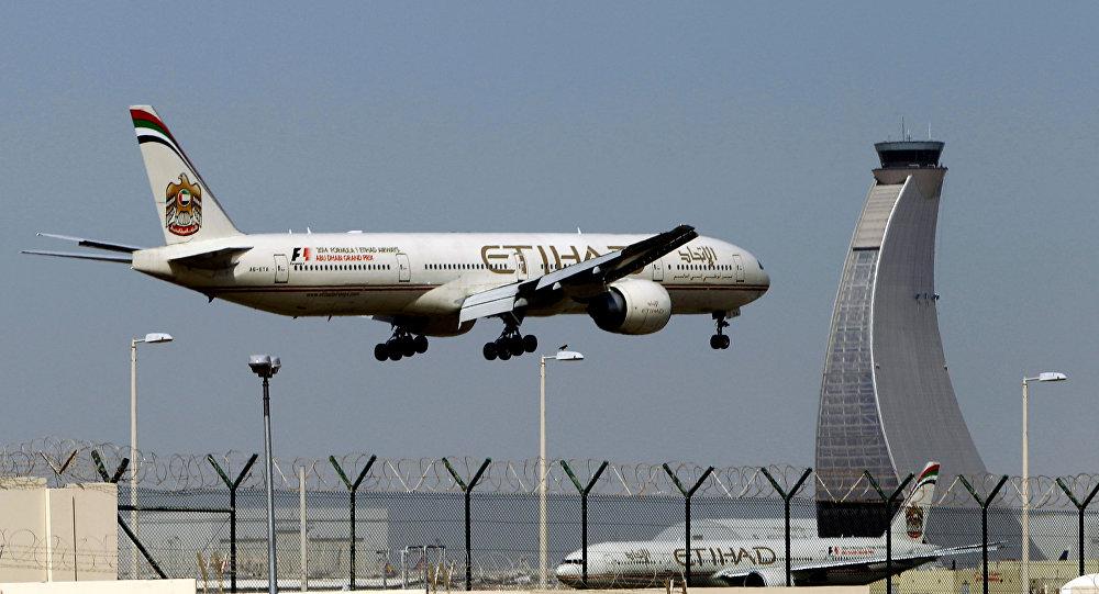 مطار أبو ظبي الدولي