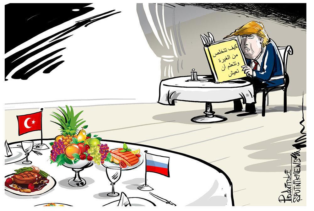 بوتين وفاق على الذهاب مع أردوغان إلى مطعم ولكن بشرط واحد