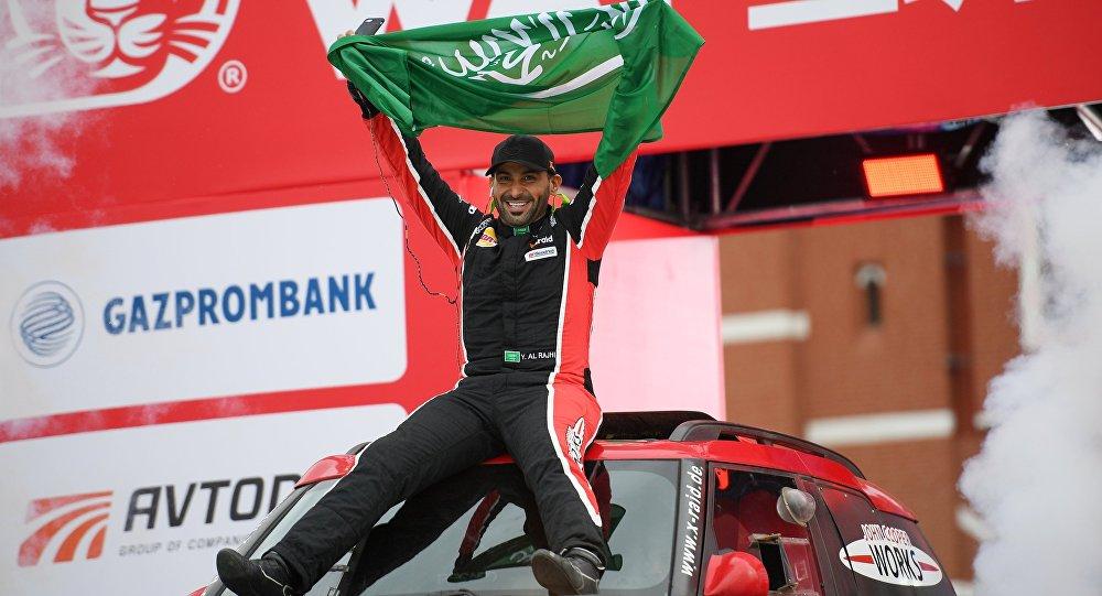 يزيد الراجحي أول عربي يحقق المركز الأول في أطول رالي بالعالم