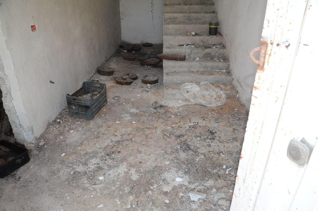 مخلفات تنظيم داعش الإرهابي بعد تقدم الجيش السوري في حوض اليرموك