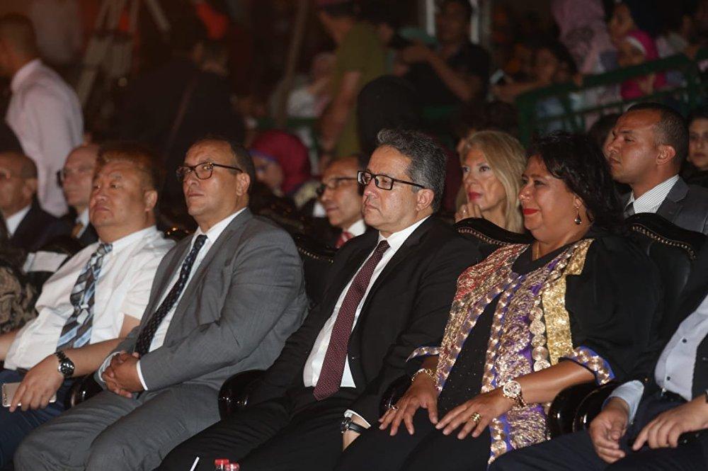 افتتاح الدورة الـ 27 لمهرجان القلعة الدولي في القاهرة، الخميس 2 أغسطس/آب 2018
