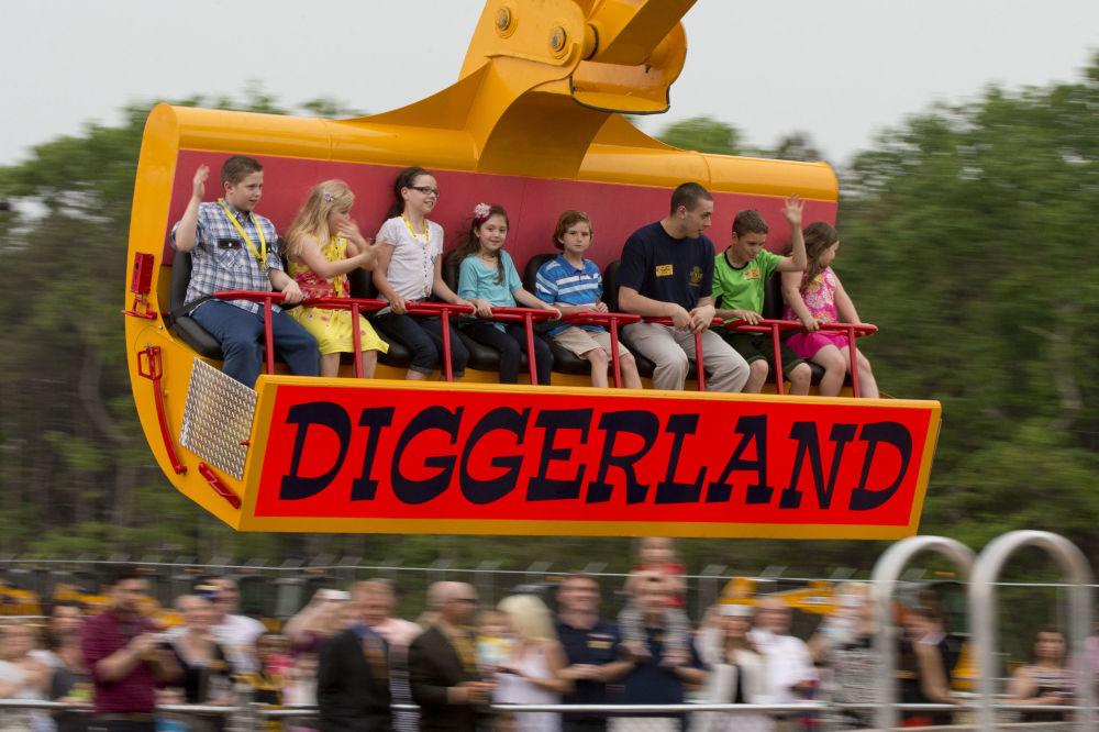مدينة الملاهي Diggerland في الولايات المتحدة