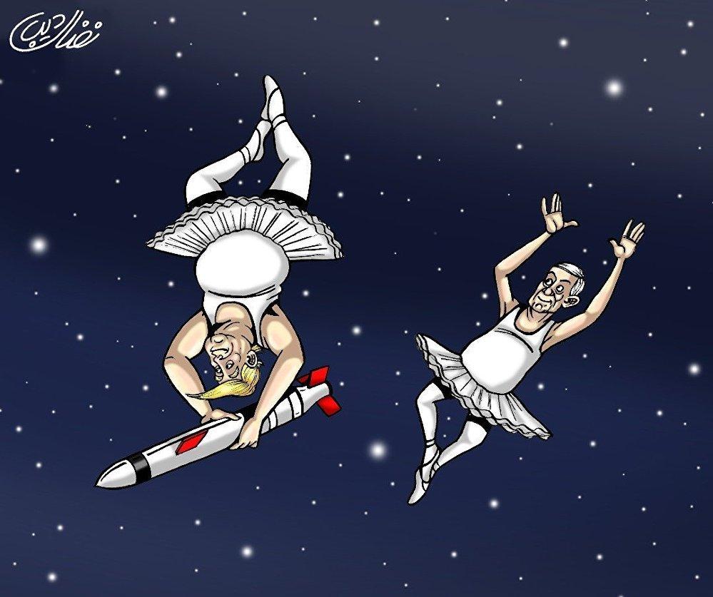 مسرح الفضاء العسكري