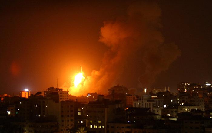 مصدر عسكري: إصابة 4 جنود بجروح إثر سقوط صاروخ إسرائيلي في منطقة