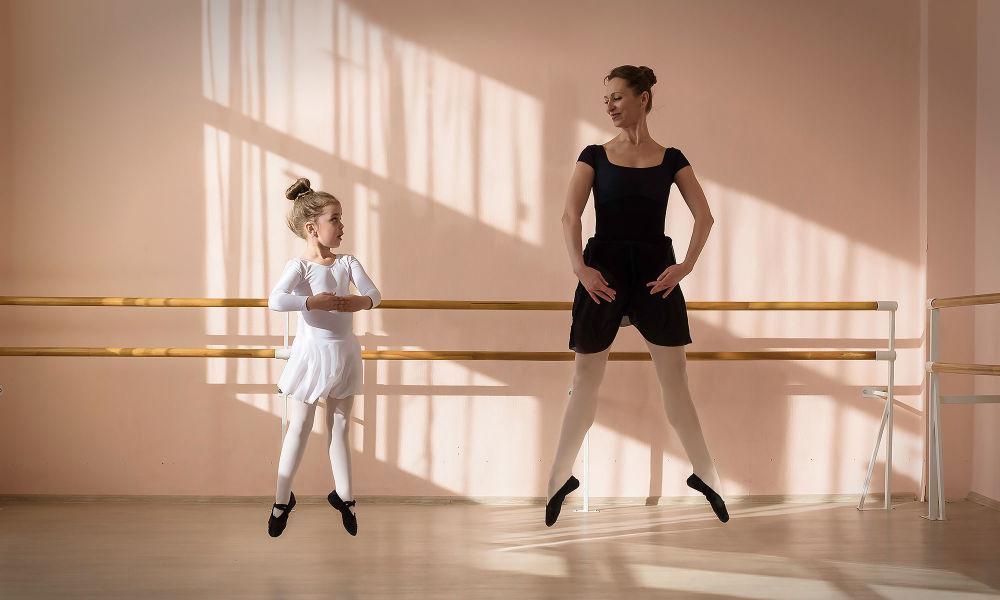 صورة بعنوان الإيقاع، للمصورة ماريا أستاخوفا، الحاصلة على المركز الثالث في فئة اللحظة الحاسمة، في مسابقة التصوير لشركة Nikon