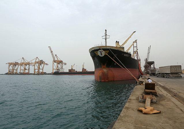 ميناء الحديدة، اليمن 5 أغسطس/ آب 2018
