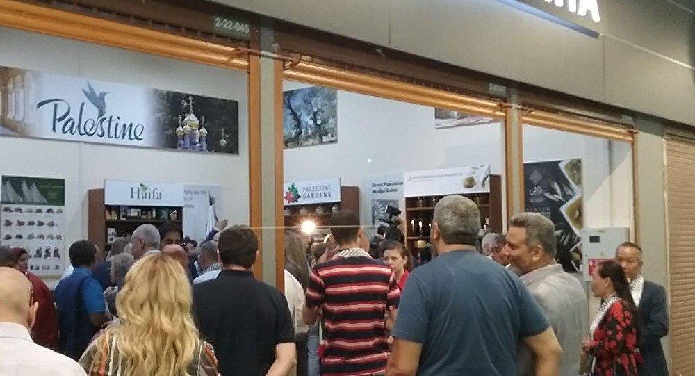 افتتاح أول جناح تجاري فلسطيني دائم في ضواحي موسكو