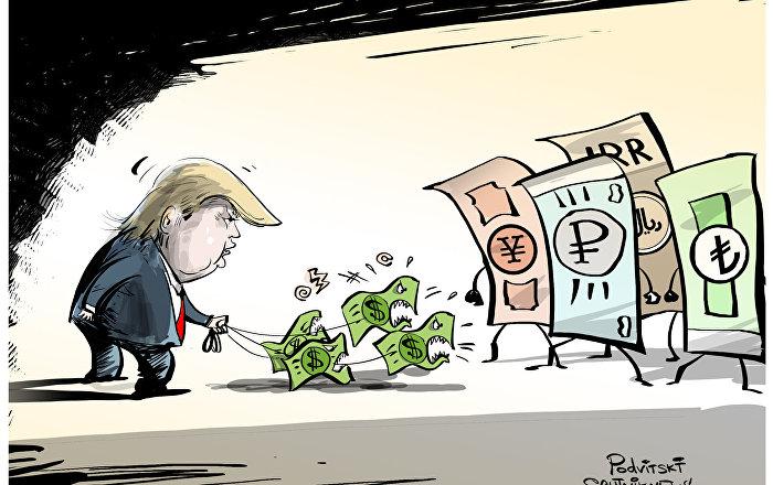 تأثير العقوبات الأمريكية على السوق المالي